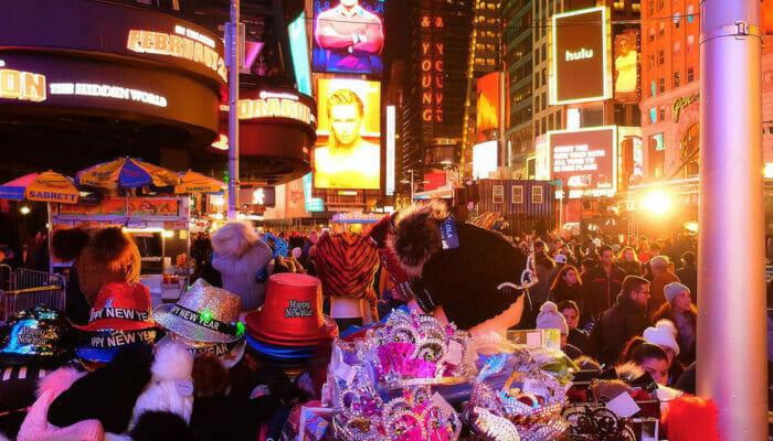 纽约跨年夜 - 新年装饰