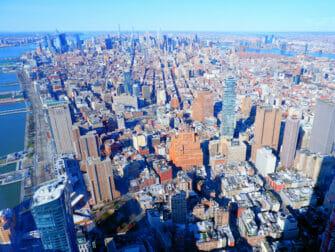 世贸中心一号楼 - 俯瞰曼哈顿