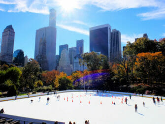 纽约滑冰 - 中央公园