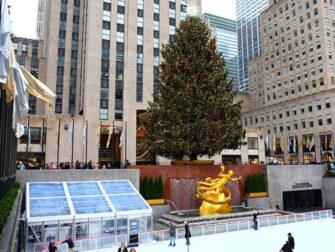 纽约滑冰 - 洛克菲勒中心溜冰场