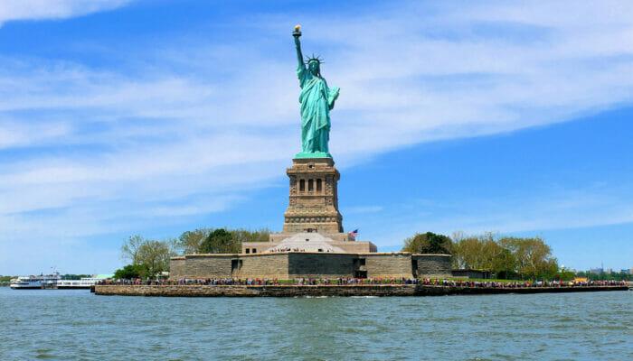 环线观光经典环岛游轮 - 自由女神像