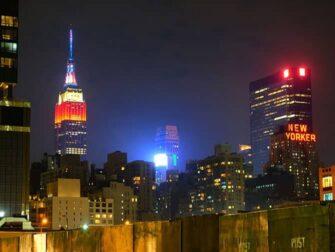 纽约曼哈顿中城 - 城市夜景