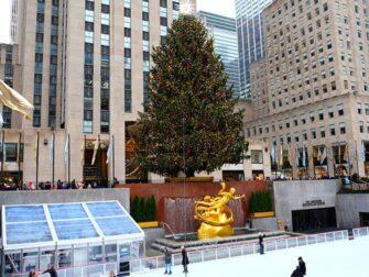 纽约曼哈顿中城 - 洛克菲勒溜冰场