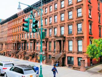 纽约哈林区 - 褐砂石街区