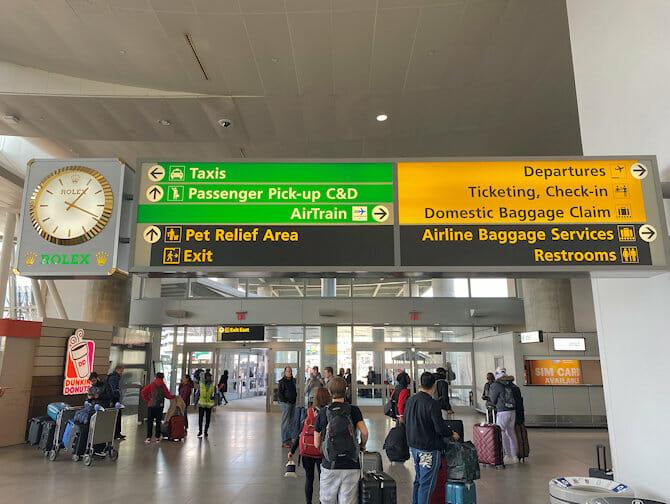 JFK机场至曼哈顿的交通方式