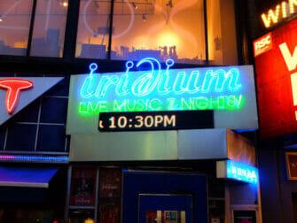 纽约的爵士和蓝调音乐 - Iridium