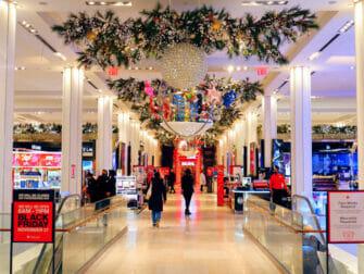 纽约梅西百货 - 圣诞装饰