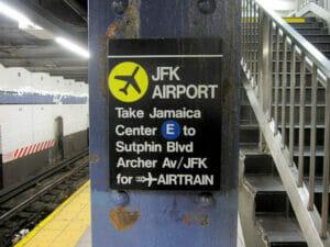 曼哈顿至JFK机场的交通方式