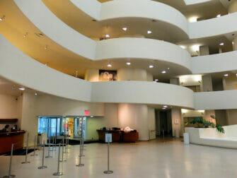 纽约古根海姆博物馆 - 内部