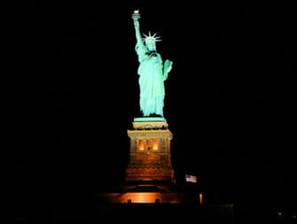 纽约游船自助晚餐 - 自由女神像