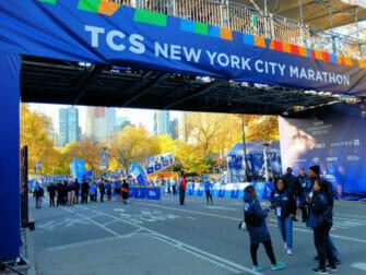 纽约马拉松 - 终点