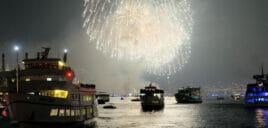 纽约独立日游船