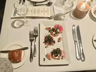 纽约平安夜游船晚餐 - 晚餐