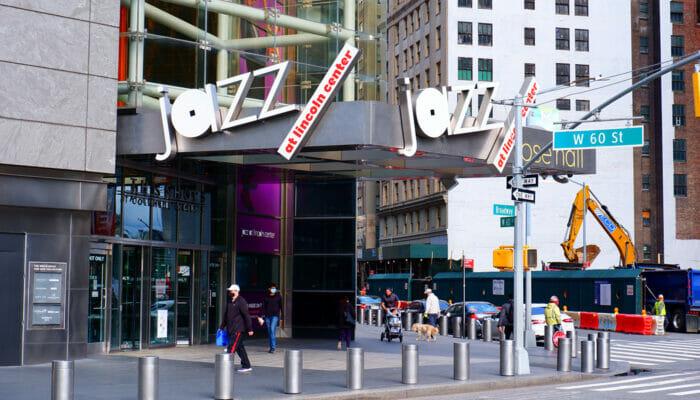 纽约的爵士和蓝调音乐 - 林肯中心