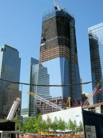 自由塔/世界贸易中心一号楼 - 建设中