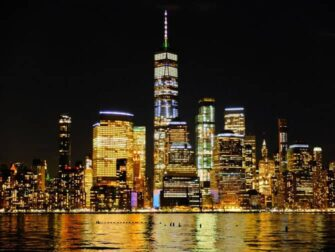 Freedom Tower / One World Trade Center - Downtown Manhattan自由塔/世界贸易中心一号楼 - 夜景