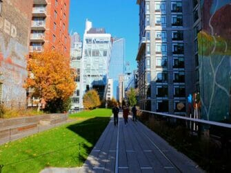 纽约高线公园 - 高楼环绕