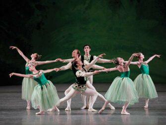 纽约芭蕾舞门票 - 小夜曲绿衣