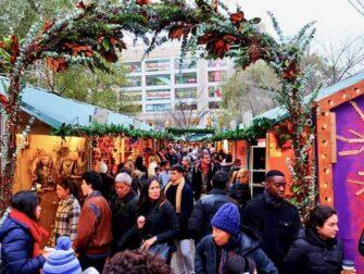 纽约的集市 - 联合广场圣诞市场