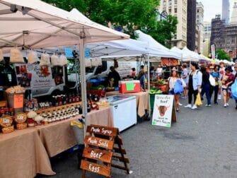 纽约的集市 - 联合广场绿色集市
