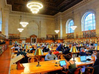 纽约公共图书馆 - 阅读室