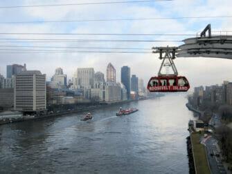 纽约罗斯福岛空中缆车 - 皇后大桥部分