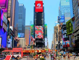 纽约时代广场 - 广告牌