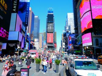 纽约时代广场 - 日景