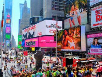 纽约时代广场 - 人群