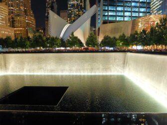 纽约9/11纪念馆 - 夜景