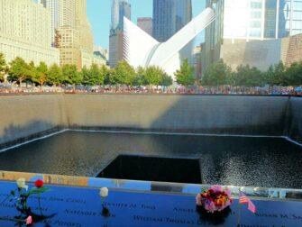 纽约9/11纪念馆 - 玫瑰