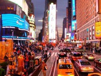 纽约Big Bus - 时代广场夜景