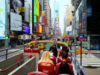 纽约Big Bus - 车上景色