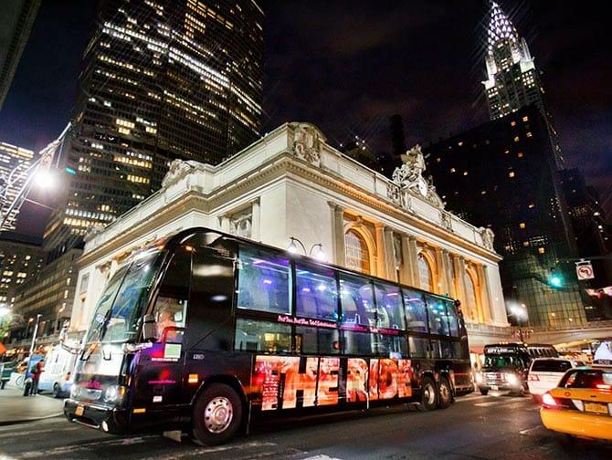 纽约The Ride观光巴士