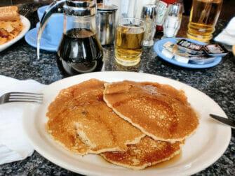 纽约的早餐 - 松饼早餐