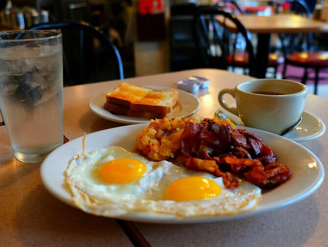 纽约的早餐