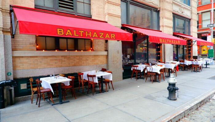 纽约的午餐 - Balthazar
