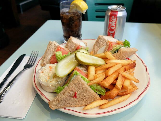 纽约的午餐