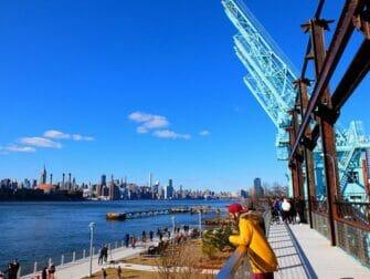 纽约公园精选 - 多米诺公园升高的步道
