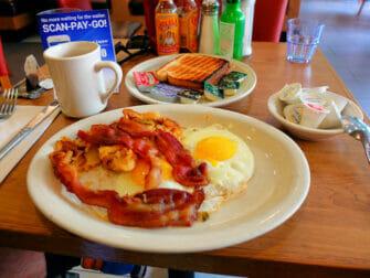纽约的早餐 - Westway Diner早餐
