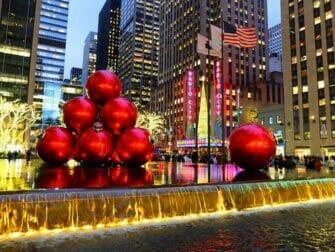 纽约圣诞节 - 圣诞装饰