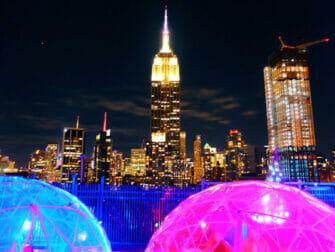 纽约最棒的屋顶酒吧 - 230Fifth夜景