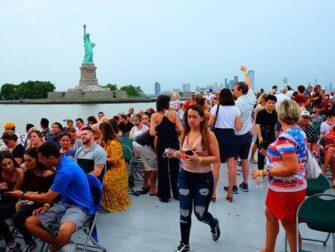 纽约独立日 - 烟花游船