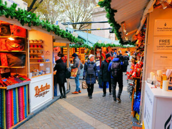 纽约圣诞季 - 圣诞集市