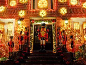 纽约圣诞季 - 戴克高地圣诞装饰