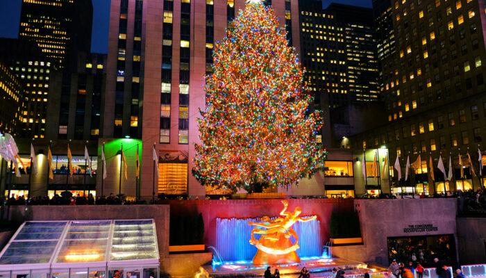 纽约圣诞季 - 洛克菲勒圣诞树