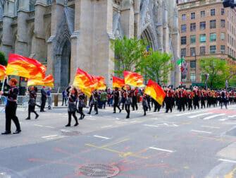 纽约哥伦布日 - 游行
