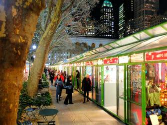 纽约的集市-布莱恩公园圣诞装饰