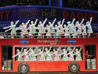 无线电城圣诞特别秀门票 - 观光巴士一幕