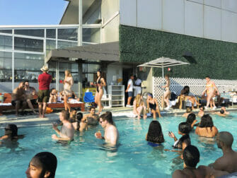 纽约最棒的屋顶酒吧 - Gansevoort酒店